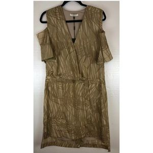NEW Halston Heritage Dress 12 Short Sleeve
